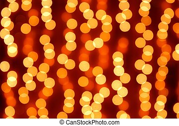 Abstract blurry lights background