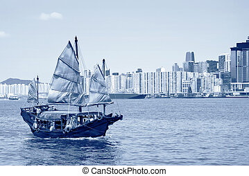 Hong Kong, Victoria Harbour sailing