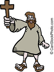 Jesus cartoon - Creative design of jesus cartoon