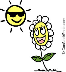 Happy sun - Creative design of happy sun