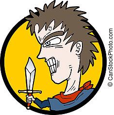 icono, swordman