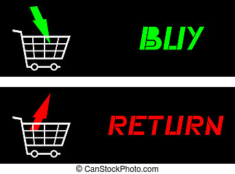 Buy-Return - Creative design of buy-return