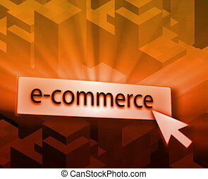 Ecommerce button