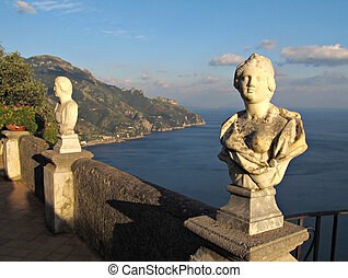 Terrace of Infinity in Ravello on Amalfi Coast - Terrace of...