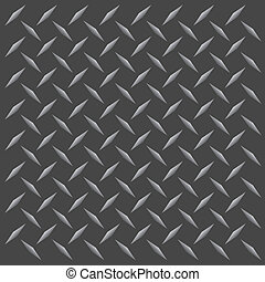 Diamond Plate - A gunmetal colored diamond plate texture...