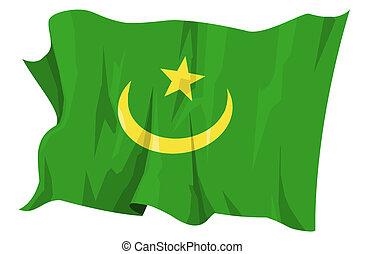 Flag series: Mauritania