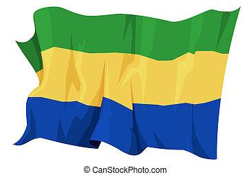 Flag series: Gabon