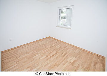 Empty interior - Empty house interior completely unfurnished