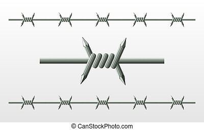 barbed wire - barbwire