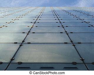 Urbis Building Facade in Manchester - Facade of Urbis...