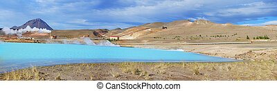 Geothermal area near myvatn - Geothermal Area near Myvatn...