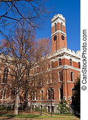 Vanderbilt university campus in Nashville, TN