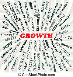 growth - illustration of growth concept
