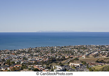View of Catalina taken from San Clemente - A view of...