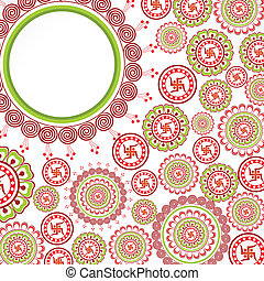 Seemless pattern vintage stock vector