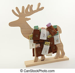 Elk Christmas Advent Calendar
