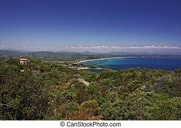 Ramatuelle with Pampelonne beach - Cap Camarat, Ramatuelle...