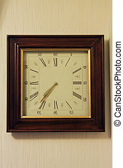 wooden classical wall clock - wooden clasical wall clock...