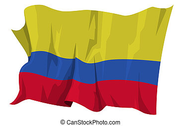 Flag series: Colombia