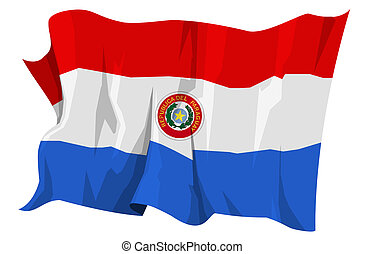 Flag series: Paraguay