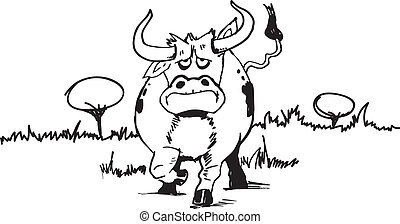 OX cartoon