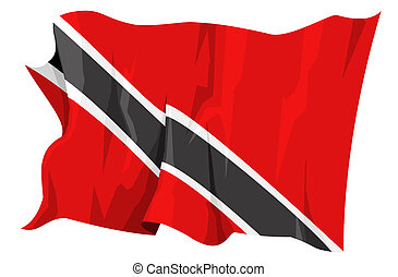 Flag series: Trinidad and Tobago - Computer generated...