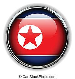 North Korea button