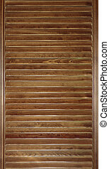 wooden blinds background - wooden venetian blind, jalousie...