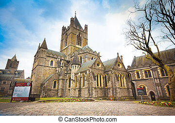Christ Church - Historic Christ Church in Dublin Ireland