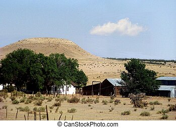 Colorado Meager Existence - A Colorado Ranch provides only a...