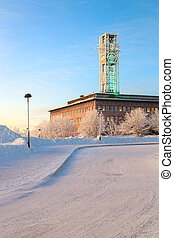 Kiruna City Hall Sweden - Architecture Kiruna City Hall at...