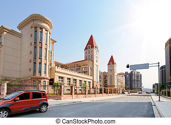 School building - Primary School building in Nanchang, China