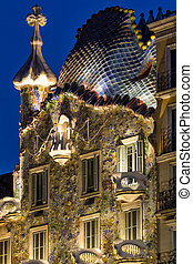 Casa Battlo in Barcelona  in Spain