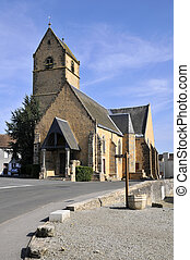 Church of Saint Peter in France - Church of Saint Peter at...
