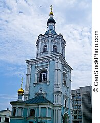 Resurrection Church belfry, Sumy, Ukraine - Ukrainian...