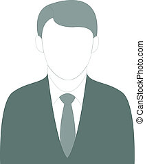 Well dressed Business Man - Vector Illustration of a...