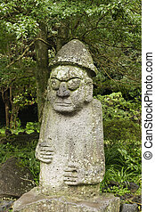 Korean Fertility Statue - The statue of Mr. Hamadan is a...