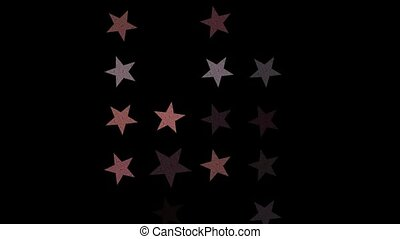 stars on night sky - Stars on night sky animation Starlight...