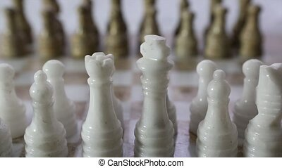 Chess Set - Stone made chess set