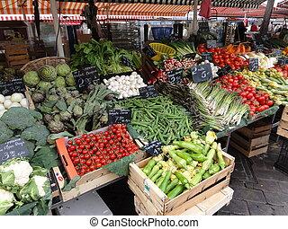 Market Vegatables - Fresh vegetables at a French market...