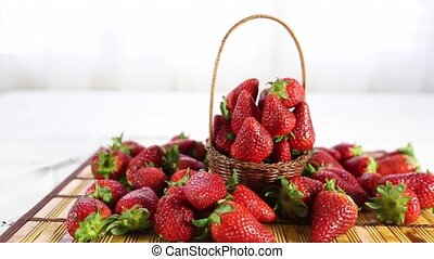 Strawberry - A bunch of strawberry on the table