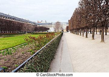 Palais-Royal garden in Paris - Palais Royal garden (Jardins...