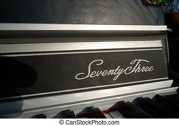 Seventy Three Rhodes keyboard