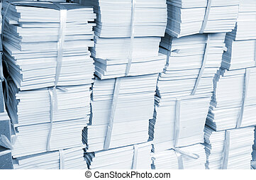 Accumulation of the book - Accumulation of new book, layer...