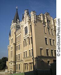 jugendstil building in kiev