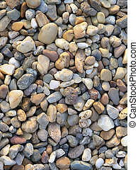 Rocks on beach - Rocks, sand, droplet on beach