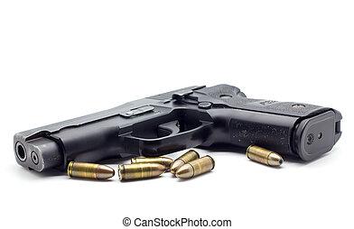 pistola, Munición, aislado