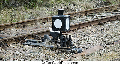SWITCH STAND FOR RAILWAY - switch stand for narrow gauge...