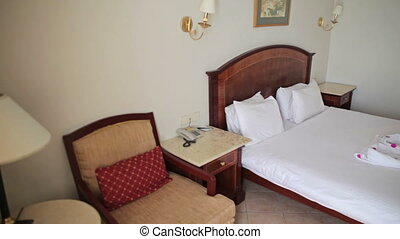 hotel room - Double bed in the hotel room