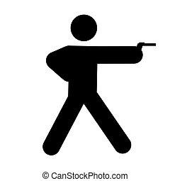 shooting - logo of shooting